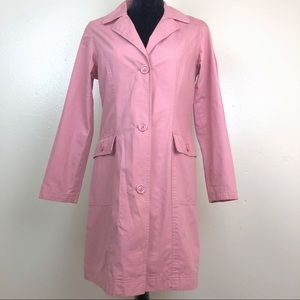 Per Una Trench Coat Blush / Dusty Pink Cotton